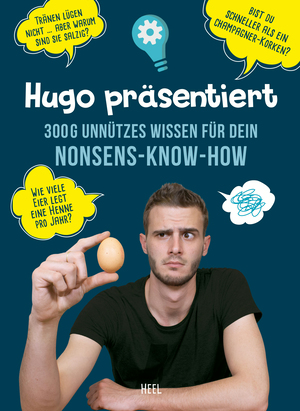 Hugo präsentiert 300 g unnützes Wissen für dein Nonsens-Know-How