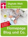 Vergrößerte Darstellung Cover: Homepage, Blog und Co.. Externe Website (neues Fenster)