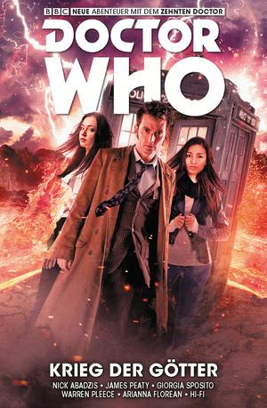 Doctor Who Staffel 10, Band 7 - Krieg der Götter