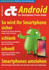 Vergrößerte Darstellung Cover: c't Android (2019). Externe Website (neues Fenster)