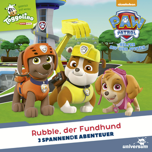 Rubble, der Fundhund