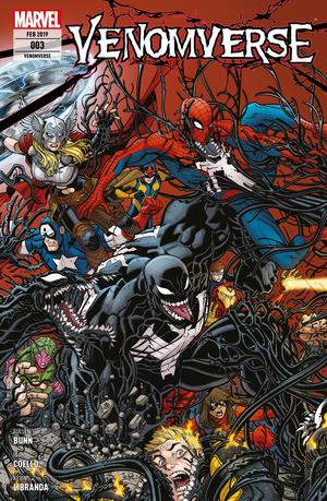 Venomverse 3 - Krieg der Symbionten