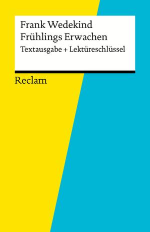 """Frank Wedekind, """"Frühlings Erwachen"""""""