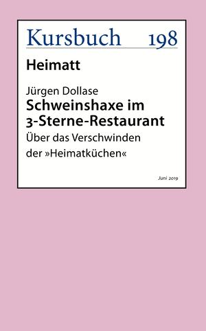 Schweinshaxe im 3-Sterne-Restaurant