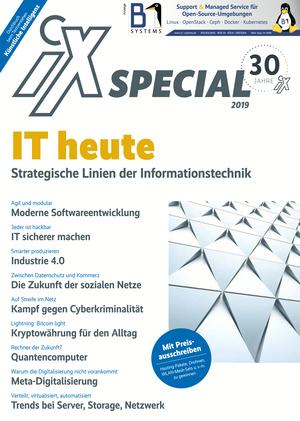 iX Special 2019 - IT heute