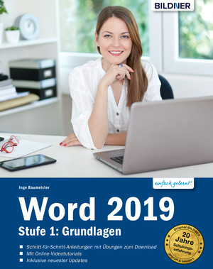 Word 2019 - Stufe 1: Grundlagen