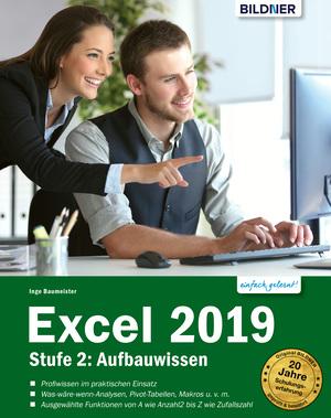 Excel 2019 - Stufe 2: Aufbauwissen