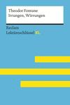 Irrungen, Wirrungen von Theodor Fontane: Reclam Lektüreschlüssel XL