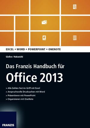Das Franzis-Handbuch für Office 2013