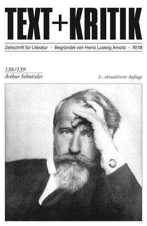 TEXT + KRITIK 138/139 - Arthur Schnitzler