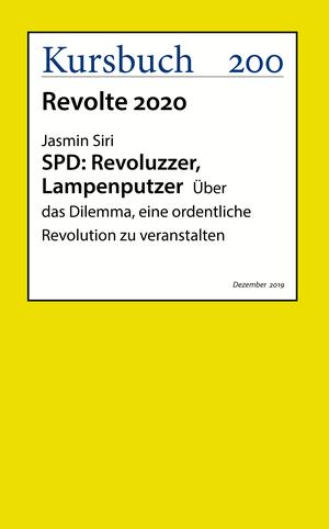 SPD: Revoluzzer, Lampenputzer