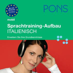 PONS mobil Sprachtraining Aufbau: Italienisch
