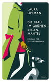 Die Frau im grünen Regenmantel