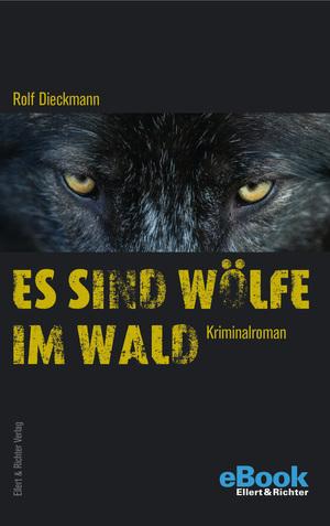 Es sind Wölfe im Wald