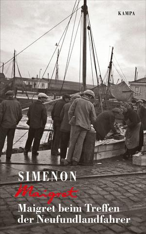 Maigret beim Treffen der Neufundlandfahrer