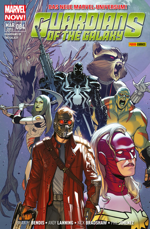 Guardians of the galaxy, Bd. 4