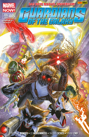 Guardians of the galaxy, Bd. 5