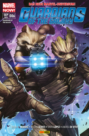 Guardians of the galaxy, Bd. 6