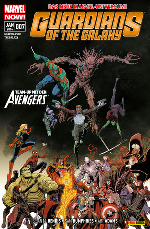 Guardians of the galaxy, Bd. 7