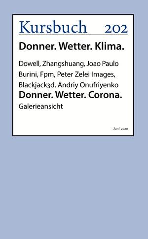 Donner. Wetter. Corona.