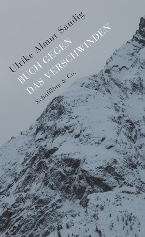 Buch gegen das Verschwinden