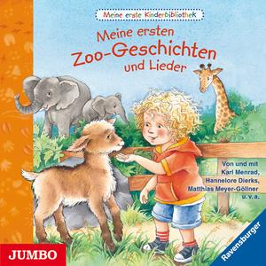 Meine erste Kinderbibliothek. Meine ersten Zoo-Geschichten und Lieder