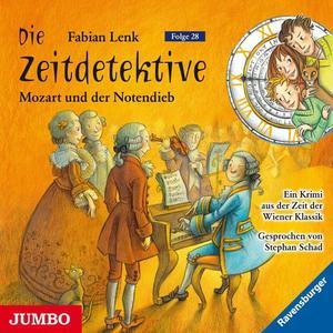 Die Zeitdetektive. Mozart und der Notendieb [28]