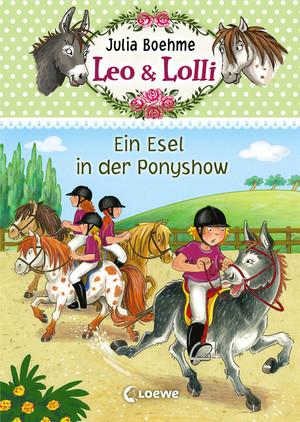 Ein Esel in der Ponyshow