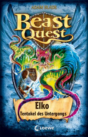 Beast Quest 61 - Elko, Tentakel des Untergangs