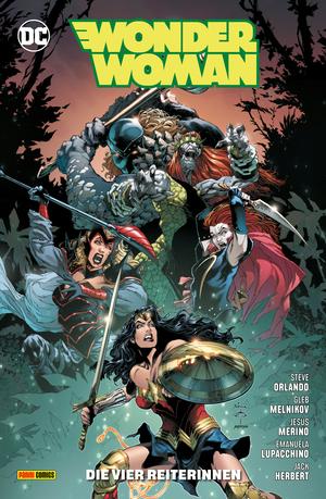 Wonder Woman - Bd. 14 (2. Serie): Die vier Reiterinnen