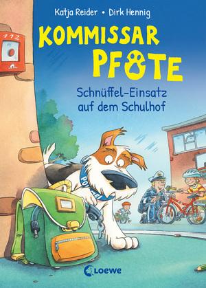 Kommissar Pfote (Band 3) - Schnüffel-Einsatz auf dem Schulhof