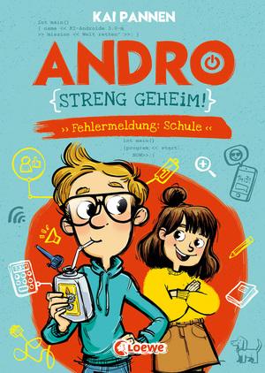 Andro, streng geheim! (Band 1) - Fehlermeldung: Schule