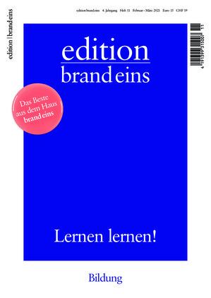edition brand eins (11/2021)