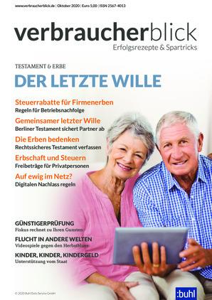 verbraucherblick (10/2020)
