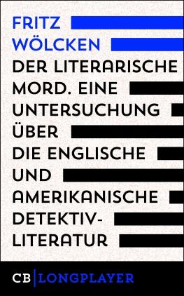 Der literarische Mord