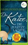Vergrößerte Darstellung Cover: Die Katze, die zuletzt lachte. Externe Website (neues Fenster)