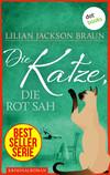 Vergrößerte Darstellung Cover: Die Katze, die rot sah. Externe Website (neues Fenster)