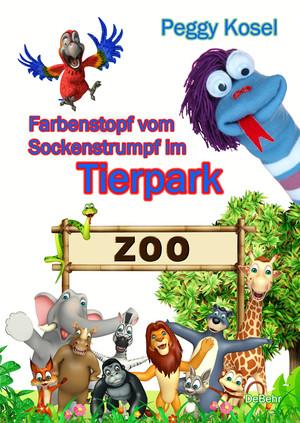 Farbenstopf vom Sockenstrumpf im Tierpark
