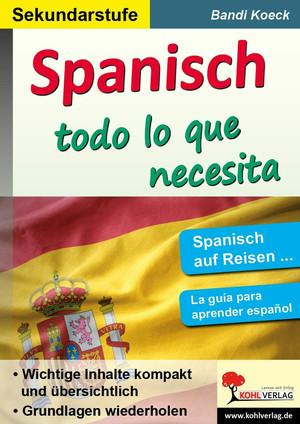 Spanish ... todo lo que necesita
