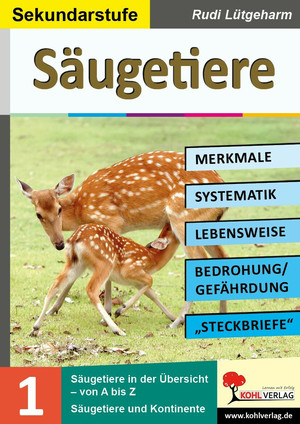 Säugetiere - Merkmale, Lebensraum, Systematik
