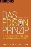 Vergrößerte Darstellung Cover: Das Edison-Prinzip. Externe Website (neues Fenster)