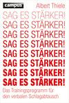 Vergrößerte Darstellung Cover: Sag es stärker!. Externe Website (neues Fenster)