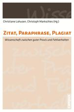 Zitat, Paraphrase, Plagiat