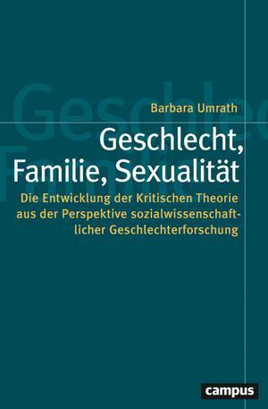 Geschlecht, Familie, Sexualität