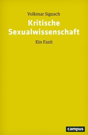 Kritische Sexualwissenschaft