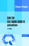 Vergrößerte Darstellung Cover: DIN EN ISO 9000:2000 ff. umsetzen. Externe Website (neues Fenster)