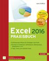 Vergrößerte Darstellung Cover: Excel 2016 Praxisbuch. Externe Website (neues Fenster)