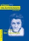 Erläuterungen zu E. T. A. Hoffmann, Der Sandmann