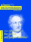 Erläuterungen zu Johann Wolfgang von Goethe, Die Leiden des jungen Werther