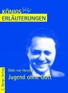 Erläuterungen zu Ödön von Horváth, Jugend ohne Gott